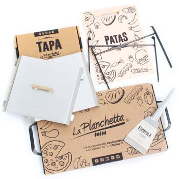 Kit Planchetta-Tapas-Espátula-Patas
